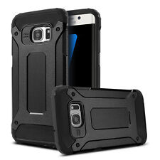 Luxury Black Armor Case For Samsung Galaxy S7 Back Cover + 1pcs Screen Protector