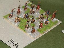 15mm Classical Greek Javelin 16 Light Infantry (1436)