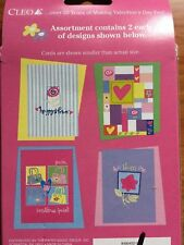 Barbie Valentine Day Note Cards 8 with 10 Stickers Blank Inside NEW Vintage 1999