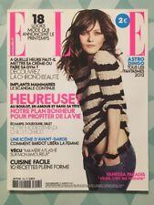 ELLE French 6 Janvier 2012 - Vanessa PARADIS - Brigitte BARDOT
