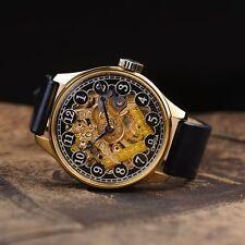 Watch masonic dial, mens vintage watch, omega watch, mens watch, pocket watch