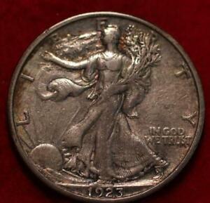 1923-S San Francisco Mint Silver Walking Liberty Half