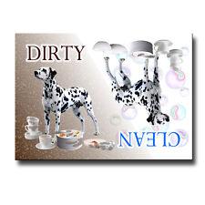 Dalmatian Clean Dirty Dishwasher Magnet Dog