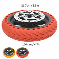 8.5 In Rear Wheel for Xiaomi Pro+Tire+120MM Disc Brake Scooter Replacement Set