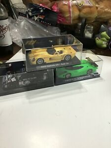 VINTAGE THREE PIECE GROUPING FLY SLOT CARS / PORSCHE / PANOZ / LISTER / NOS!!!!!