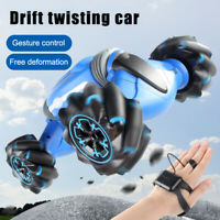 Cool Stunt RC Car Gesture Sensing Twisting Vehicle Drift Car Kids Toy Xmas Gifts