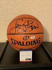 NBA. LARRY BIRD Autographed Basketball. PSA/DNA Certified. Boston Celtics