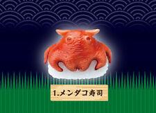 Re-Ment Deep Sea Creature Gourmet Sushi Sashimi Mini Replica Flapjack Octopus