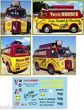 TOUR DE FRANCE 55 DECALCOMANIES DECORATION PEUGEOT D4A YVETTE HORNER AU 1/43