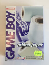 Game Boy - Printer Druckerpapier (3 Rollen) | Sammlerstück NEU | NEW | MINT