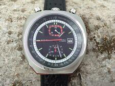 Bullhead S0RNA automatic watch tachymeter scale black version new unworn