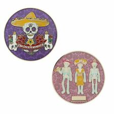 Day of The Dead Geocoin Geocaching Trackable