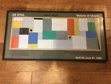 DE STIJL Hirshhorn Museum Sculpture Garden VISIONS OF UTOPIA EXHIBITION 1982