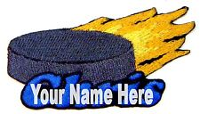 Hockey Custom Iron-on Patch With Name Personalized Free