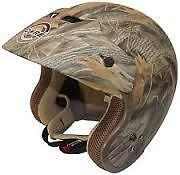 Helmet - Core Forester Deluxe Open Face Camo ATV, UTV, Motorcyle Helmet Camo