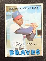 1967 Topps Felipe Alou #530 NM Atlanta Braves