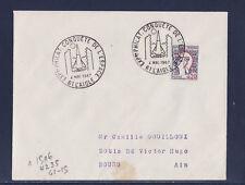 ec67/ Enveloppe   expo  conquete de l' espace  l' Aigle       1967