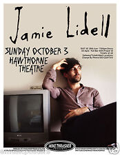 JAMIE LIDELL 2010 PORTLAND CONCERT TOUR POSTER - Soul, Funk, Electronica Music