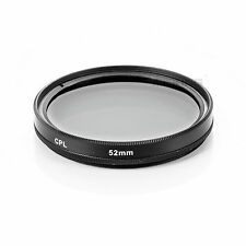 Meking 52mm CPL Polarizing Lens Filter for Canon Nikon Sony Pentax Sigma Olympus