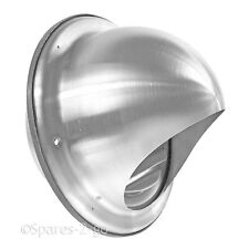 """Stainless Steel Wall Air Vent Cooker Hood Extractor Ventilation Mesh Outlet 6"""""""