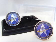 STAR trek Starfleet comunicazioni BADGE Uomo Gemelli Gemelli regalo