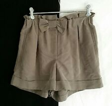 FOREVER NEW Dress Shorts with Bow 70% Modal / 30% Polyester