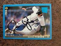 1995 Upper Deck SE Travis Fryman #222 - Detroit Tigers - Autographed!