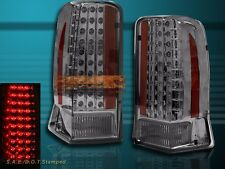 2002-2006 CADILLAC ESCALADE SMOKE LED TAIL LIGHTS 4 DOORS LAMPS 2003 2004 2005