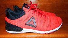 Reebok ZPrint  3D Speed Running Training Mesh Knit  Men Size 14 Red Black White