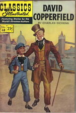 david copperfield no silver age classics illustrated comics classics illustrated comic book 48 david copperfield hrn 166 ed 14 fine
