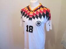 GERMANY 1992-94 KLINSMANN #18 Shirt Home Large
