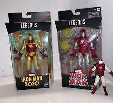 Marvel Legends Iron Man 6? & 3.75? (Silver Centurion) & Iron Man 2020