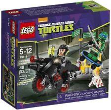 LEGO Teenage Mutant Ninja Turtles TMNT - KARAI BIKE ESCAPE - 79118 - NEW SEALED