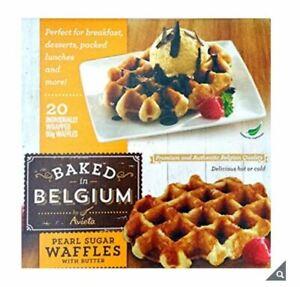 Belffles Premium Belgian Waffles, 20 x 90g Brand New, Free Delivery
