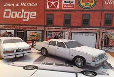 Papercraft Dodge St. Regis 4 door sedan Paper Car Model 1979 - 1981 EZU-MakeIt