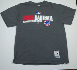 Majestic Chicago Cubs Baseball Shirt Size L