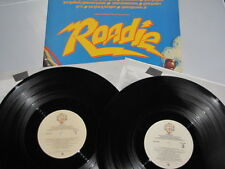 1980 ROADIE Soundtrack LP vinyl stereo 2- record set Rock & Roll various artists