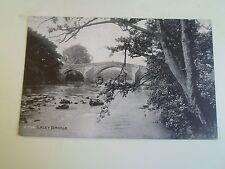 Rare Old Postcard ILKLEY BRIDGE 2708 Grano Series