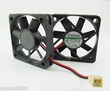 1pc SUNON 50x50x10mm 50mm 5010 12V DC Fan KDE1205PFV2 11CFM 2pin 2510 Connector