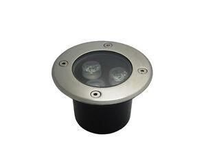3W DC12v LED Inground Light Outdoor Garden Path Underground Lamp Warm/Pure White