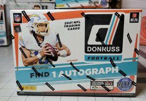 2021 PANINI DONRUSS FOOTBALL NFL MEGA BOX! 1 AUTO PER BOX! FACTORY SEALED!