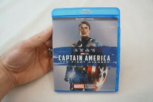 """Captain America: The First Avenger """"Phase One"""" (Blu-Ray, 1-Disc, 2017) No Code 5"""
