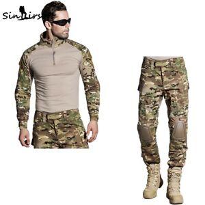 Tactical Military Combat G3 Uniform Shirt Or Pants w/ Pad Airsoft Gen3 MC BDU US