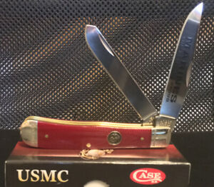 Marine Corps Red Trapper Knife