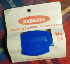 Vintage Johnson's Pocket Skate Hone/Sharpener - NIP - 4 Available