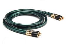 Hifi RCA Cable Hi-end Pure OCC 2RCA Male Audio Cable