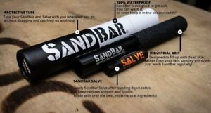 SANDBAR Black Hand Care Kit Callus Remover + Natural Salve CrossFit Gymnastics