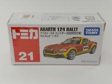 Takara Tomy Tomica ~ No.21 Anarth 124 Rally 1st Limited Edition