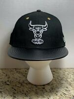NWT New Era 9FIFTY Hardwood Classics Chicago Bulls Custom Snapback Hat/Cap OSFA