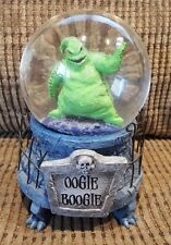 "DISNEY NIGHTMARE BEFORE CHRISTMAS ""OOGIE BOOGIE "" SNOW GLOBE Disney store"